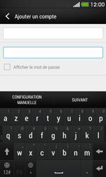 HTC Desire 500 - E-mail - Configuration manuelle - Étape 7