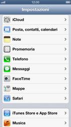 Apple iPhone 5 - Applicazioni - configurazione del negozio applicazioni - Fase 3