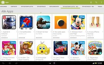 Sony Xperia Tablet Z LTE - Apps - Herunterladen - 10 / 21