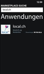 Nokia Lumia 800 / Lumia 900 - Apps - Installieren von Apps - Schritt 7