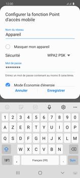 Samsung Galaxy S20 5G - WiFi - Comment activer un point d'accès WiFi - Étape 9