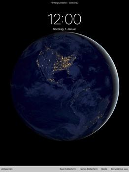 Apple iPad Pro 12.9 inch - iOS 11 - Hintergrund - 7 / 8