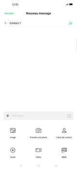 Oppo Find X2 Pro - Contact, Appels, SMS/MMS - Envoyer un MMS - Étape 9