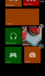 Nokia Lumia 820 / Lumia 920 - Getting started - Personalising your Start screen - Step 8