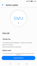 Huawei P9 - Android Nougat - Device - Software update - Step 6