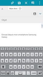 Samsung G900F Galaxy S5 - E-mail - envoyer un e-mail - Étape 7