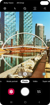 Samsung Galaxy S10 Plus - Photos, vidéos, musique - Prendre une photo - Étape 11