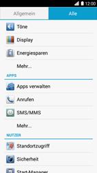 Huawei Ascend G6 - Anrufe - Rufumleitungen setzen und löschen - 4 / 9