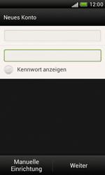 HTC Desire X - E-Mail - Manuelle Konfiguration - Schritt 8
