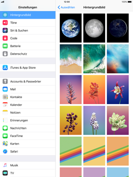 Apple iPad Air - iOS 11 - Hintergrund - 8 / 8