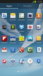 Samsung N7100 Galaxy Note II - Contacten en data - Contacten kopiëren van toestel naar SIM - Stap 3