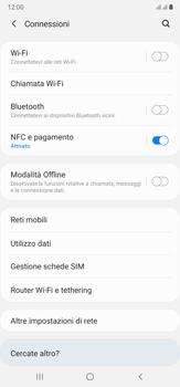 Samsung Galaxy Note 20 Ultra 5G - Rete - Come attivare la connessione di rete 5G - Fase 5
