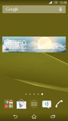 Sony Xperia Z3 - Operazioni iniziali - Installazione di widget e applicazioni nella schermata iniziale - Fase 8