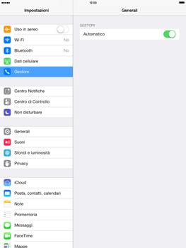 Apple iPad mini iOS 7 - Rete - Selezione manuale della rete - Fase 4