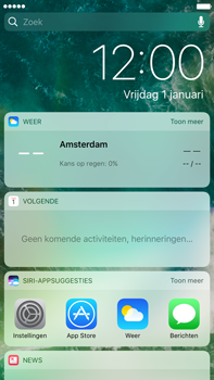 Apple Apple iPhone 6s Plus iOS 10 - iOS features - Vergrendelscherm - Stap 3