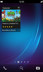 BlackBerry Z10 - Applications - Setting up the application store - Step 15