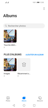 Huawei P Smart 2021 - Photos, vidéos, musique - Envoyer une photo via Bluetooth - Étape 5