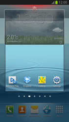 Samsung Galaxy S III - Getting started - Installing widgets and applications on your start screen - Step 8