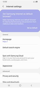 Samsung Galaxy A40 - Internet - Manual configuration - Step 26
