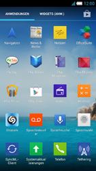 Alcatel Idol S - Apps - Konto anlegen und einrichten - 3 / 25