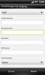 HTC X315e Sensation XL - E-Mail - Konto einrichten - Schritt 6