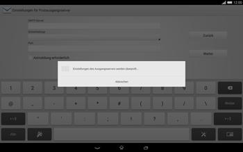 Sony Xperia Tablet Z2 LTE - E-Mail - Konto einrichten - Schritt 15