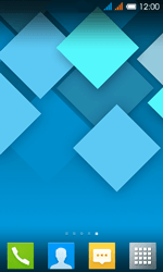 Alcatel One Touch Pop C3 - Operazioni iniziali - Installazione di widget e applicazioni nella schermata iniziale - Fase 8