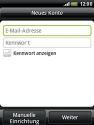 HTC A3333 Wildfire - E-Mail - Konto einrichten - Schritt 6