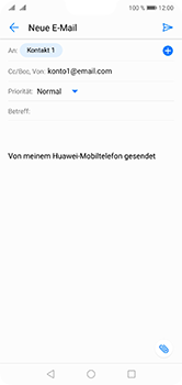 Huawei P20 Lite - E-Mail - E-Mail versenden - 7 / 17