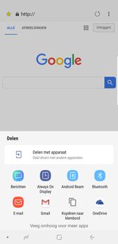 Samsung Galaxy Note9 - internet - hoe te internetten - stap 23