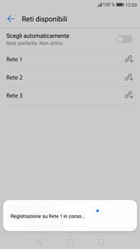 Huawei Mate 9 - Rete - Selezione manuale della rete - Fase 10