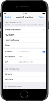 Apple iPhone 7 Plus - Apps - Konto anlegen und einrichten - 14 / 26