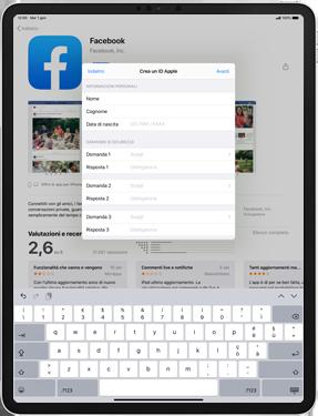Apple iPad Pro 10.5 (1st gen) - iPadOS 13 - Applicazioni - Configurazione del negozio applicazioni - Fase 13