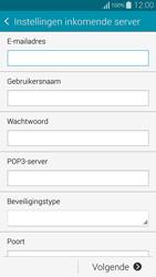 Samsung Galaxy Alpha (G850F) - e-mail - handmatig instellen - stap 8