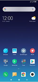 Xiaomi Mi Mix 3 5G - Apps - Einrichten des App Stores - Schritt 1