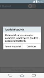 LG G3 - Bluetooth - Jumelage d