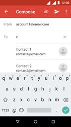 Nokia 1 - E-mail - Sending emails - Step 6