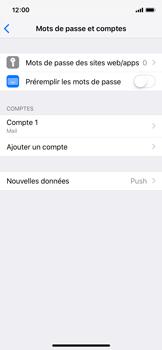 Apple iPhone X - iOS 12 - E-mail - Configuration manuelle - Étape 17