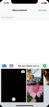 Apple iPhone X - MMS - Afbeeldingen verzenden - Stap 9