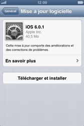Apple iPhone 3GS - Logiciels - Installation de mises à jour - Étape 8