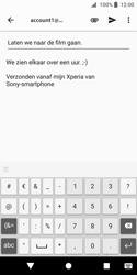 Sony Xperia XZ2 Compact - e-mail - hoe te versturen - stap 9