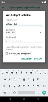 Wiko View 2 Plus - Internet - mijn data verbinding delen - Stap 7