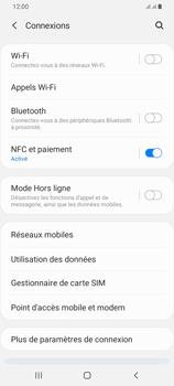 Samsung Galaxy A42 5G - Internet et connexion - Utiliser le mode modem par USB - Étape 5