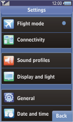 Samsung S8500 Wave - MMS - Manual configuration - Step 4