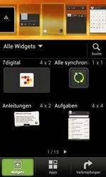 HTC Desire X - Startanleitung - Installieren von Widgets und Apps auf der Startseite - Schritt 3