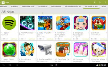 Sony Xperia Tablet Z LTE - Apps - Herunterladen - Schritt 11