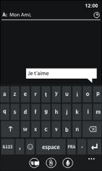 Nokia Lumia 800 - Contact, Appels, SMS/MMS - Envoyer un SMS - Étape 8