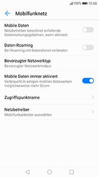 Huawei P10 Plus - Internet und Datenroaming - Prüfen, ob Datenkonnektivität aktiviert ist - Schritt 5