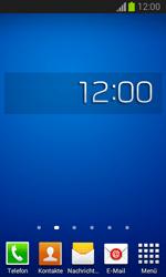 Samsung Galaxy Trend Lite - Startanleitung - Installieren von Widgets und Apps auf der Startseite - Schritt 9