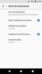Sony Xperia XZ1 - Internet - Ver uso de datos - Paso 13